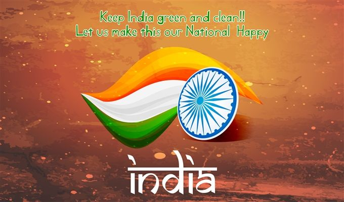 Indian Holiday Independence Day Wish Quote Image