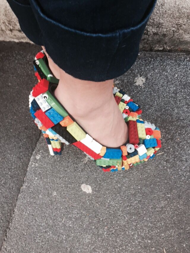 Lego shoes ! Love them