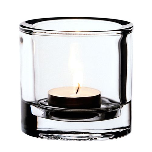 iittala Kivi Candle Holder - Clear $15.00 #pintofinn so sad these won't be for sale in the US anymore!