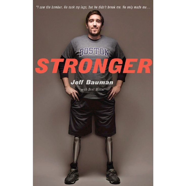 Stronger (Hardcover) by Jeff Bauman