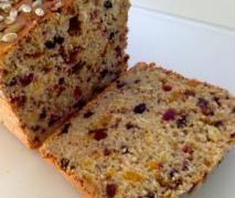 GLUTEN FREE FRUIT BREAD (adapted from my GF bread recipe)