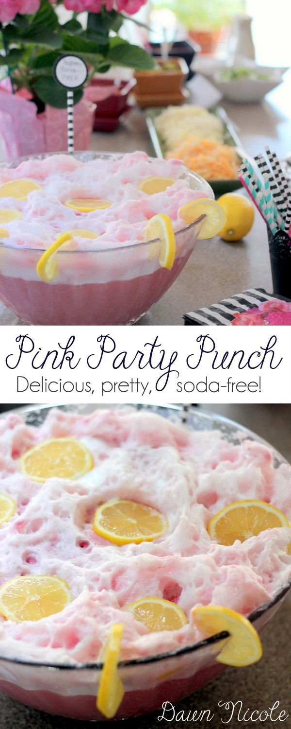 Soda-Free Pink Party Punch