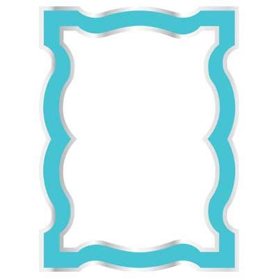 Tiffany Blue Border Dry Erase Board Dreamdormocm Dream