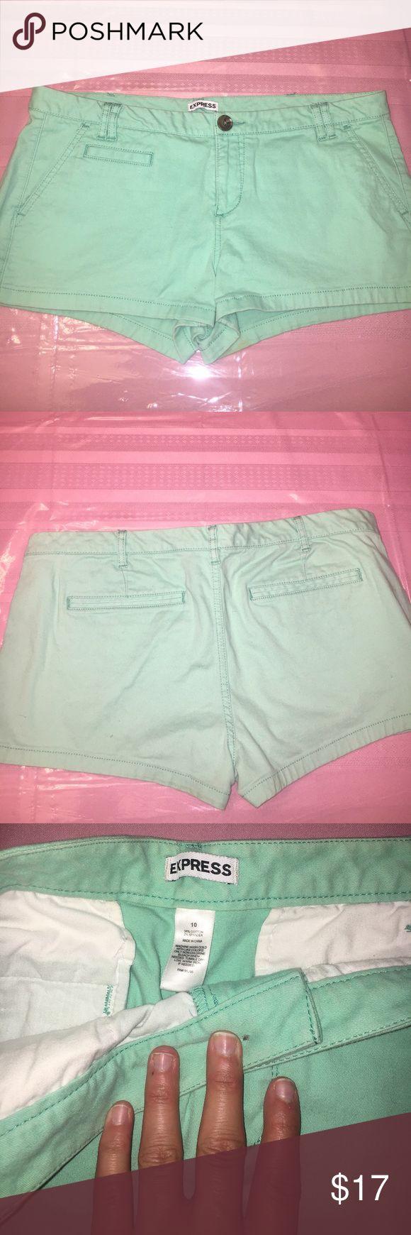 Aqua Shorts Express Aqua Shorts // Size 10 Express Shorts