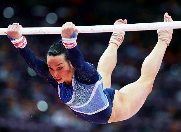 Beth Tweddle (GB) - Three time World Champion on UB and Floor and Olympic Medalist on UB.