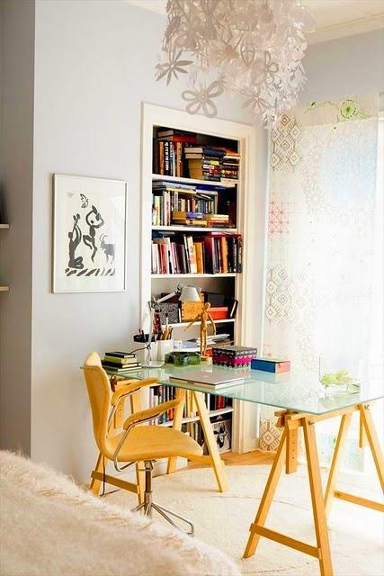 19 best images about mesa porta cavalete on pinterest - Decoracion para escritorio ...