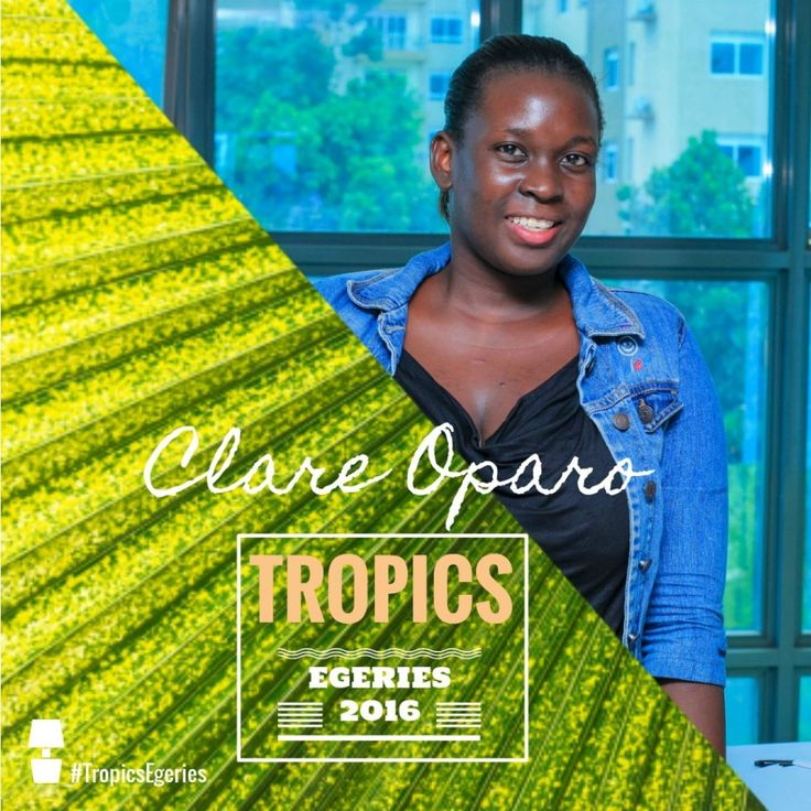Clare Oparo - Tropics Egéries by Tropics Magazine