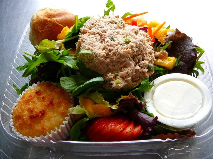 Photo: Salad Box Lunches.   [You can click here to go to the Photos page.]  San Francisco Catering -  AROMA BUENA CATERING - Hispano World C...