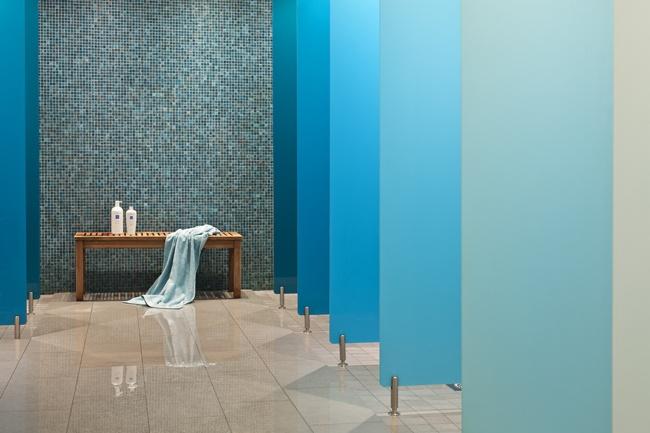 Ladies Changing Room, Sturebadet. Shades of Blue