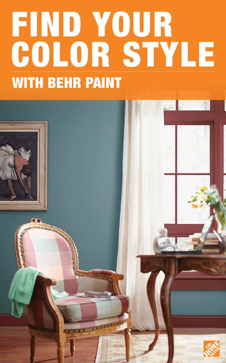 Create a home that reflects your personality with help from The Home Depot  Color Center.