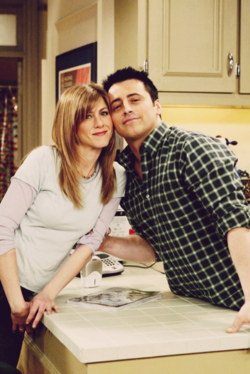 the good friends joey and Rachel