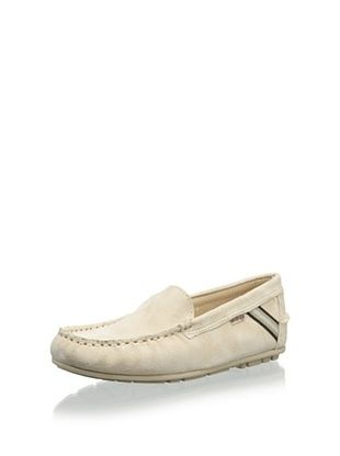 W.A.G. Kid's Loafer with Stripe (Blanco)