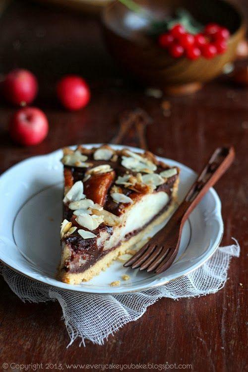 Every Cake You Bake: Tarta czekoladowa z gruszkami