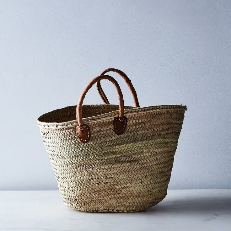 Medina Mercantile French Market Basket by Food52 - Dwell