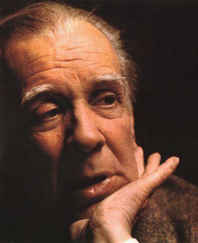 Borges todo el año: Jorge Luis Borges: Laberintos - Foto: Retrato de Borges en Libro Edición Especial Revista Gente, 50 años de vida argentina, 1974