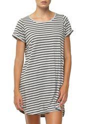 tina tshirt dress, BRETON STRIPE GREY MARLE/BLACK AUS $20 on sale