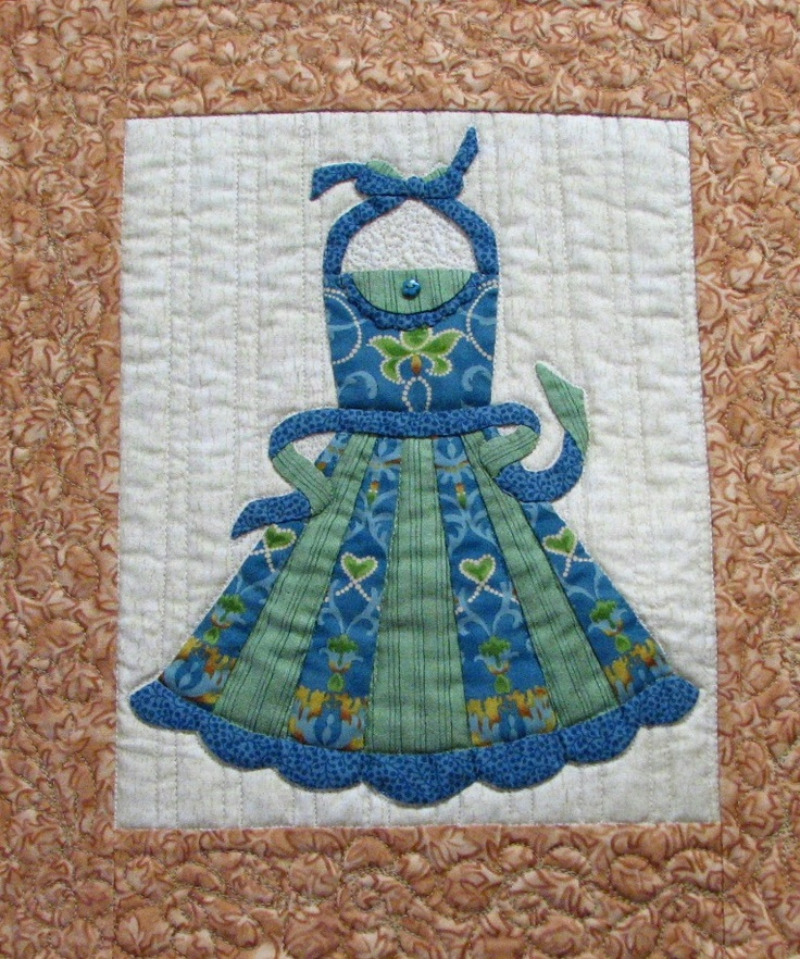 85 best images about apron quilt block on pinterest for Kitchen quilting ideas