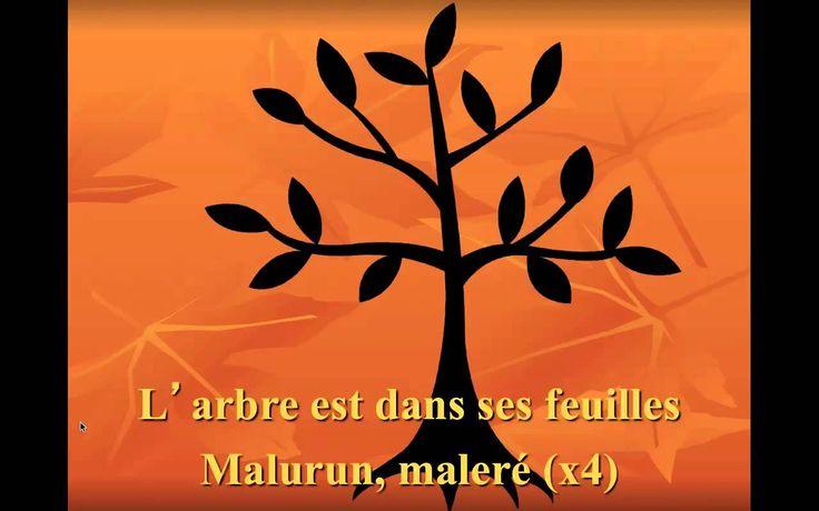 L'arbre est dans ses feuilles.  Old Quebec folk song great for fall or spring.