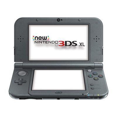 3DS SL System New Black - Nintendo - REDSVAAA