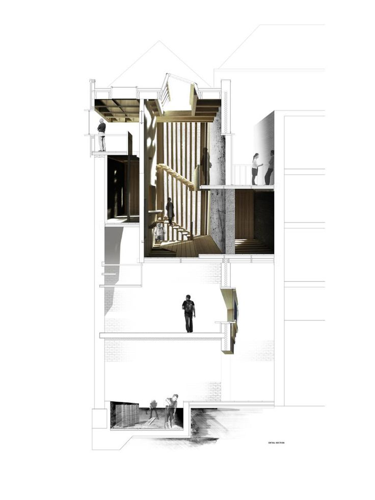 Factory, by Aleksandrina Rizova. Kingston University RIBA President's Medal Student Awards - Komfort Award