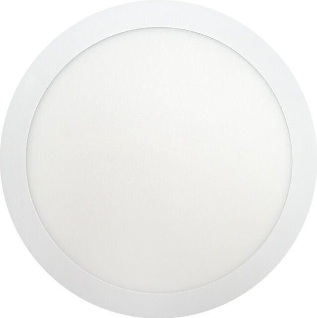 Aspectul rotund al acestui cop de iluminat o face practic de incadrat in orice incapere. APLICA LED 24W ROTUNDA ECO ALB RECE asigura lumina in culoare de temperatura alb rece la consum scazut de energie electrica.