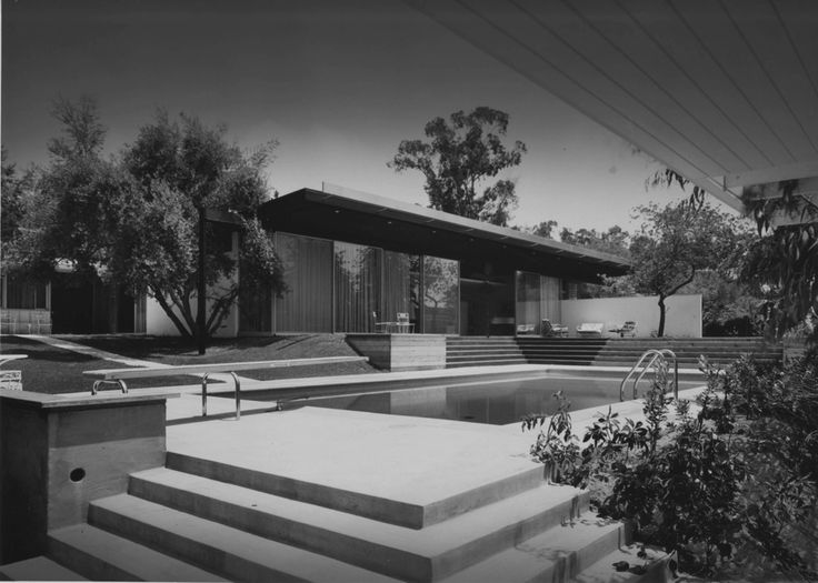 Richard Neutra. Kronish House. 1955. Beverly Hills, California.