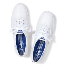 Keds Champion Originals - White (Leather)