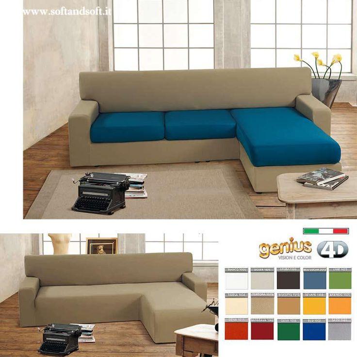 Oltre 25 fantastiche idee su copri divano su pinterest coperture per divano copridivani e - Copridivano 3 posti con penisola ...