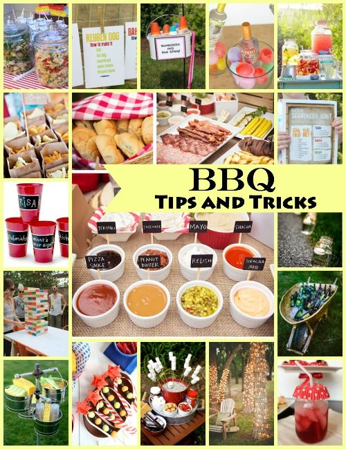 Tons of tips and tricks to know before your next BBQ! - Pretty My Party #barbeque #partyideas #partyplanning #summer #entertaining