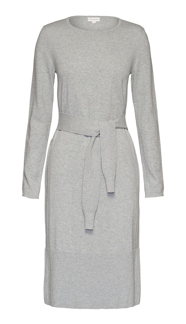 Elka Collective - Amber Knit Dress In Grey Marle
