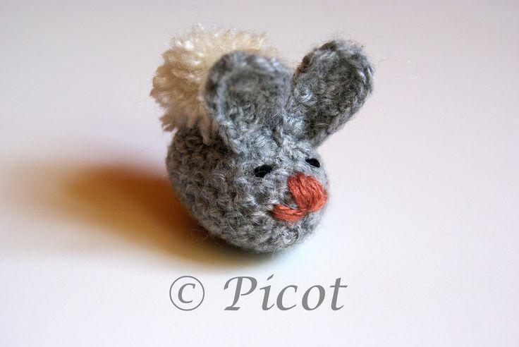 Picot - Szydełkowe Inspiracje: Szydełkowe króliczki