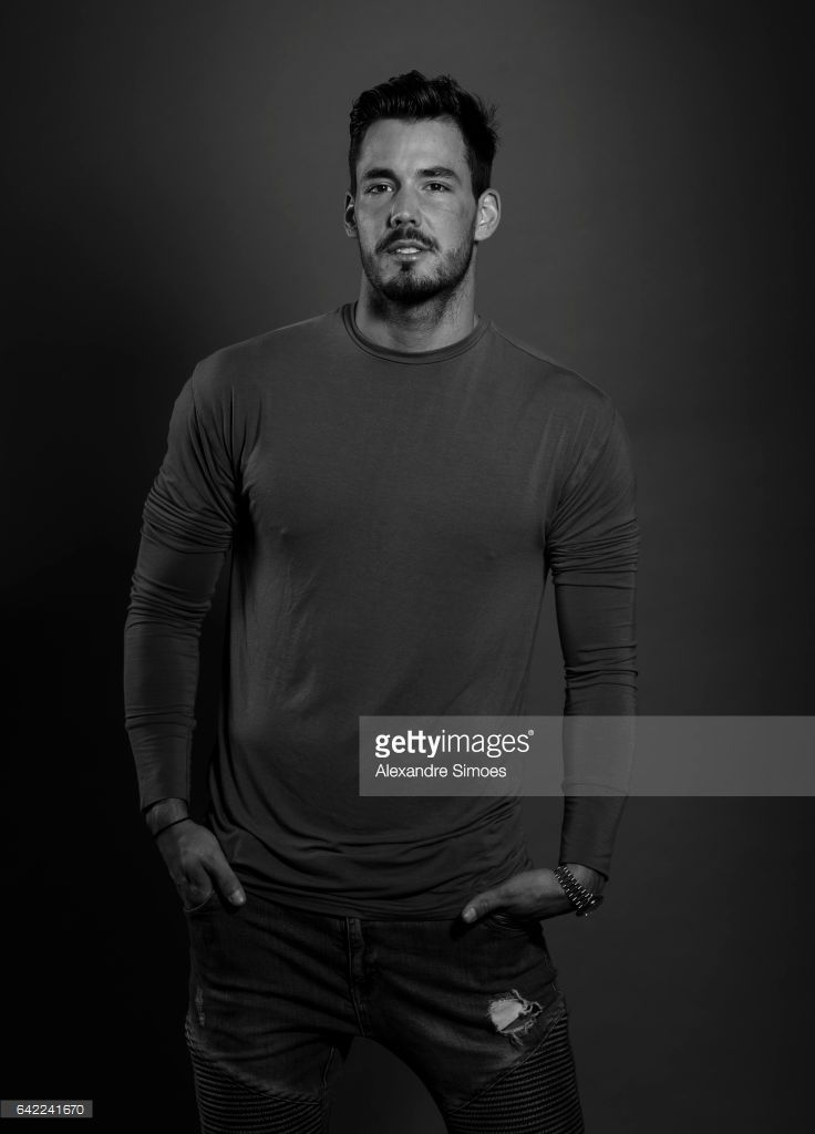 Photo session with goalkeeper Roman Buerki of Borussia Dortmund on November 3, 2016 in Dortmund, Germany.