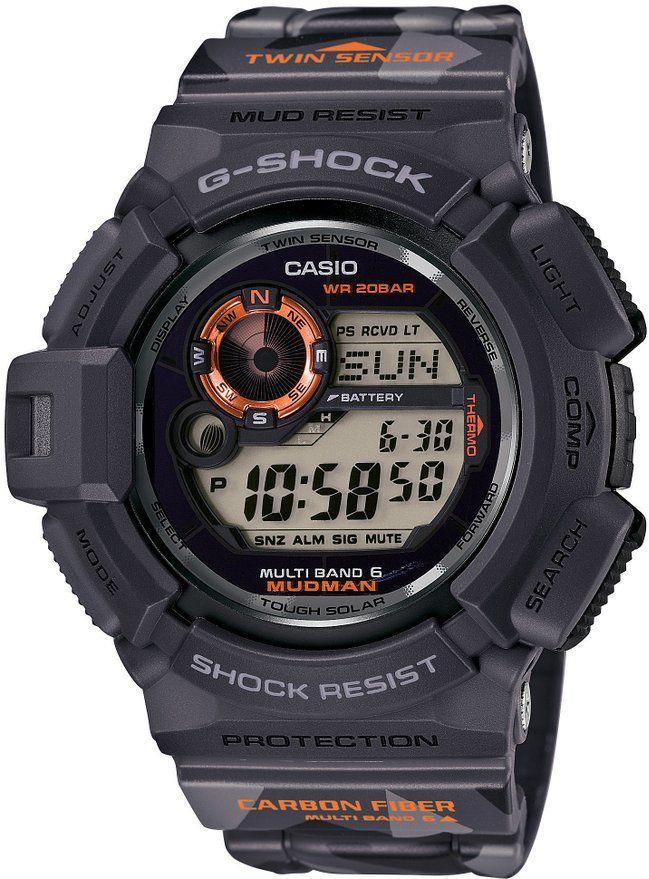 "CASIO G-SHOCK ""MEN IN CAMOUFLAGE MUDMAN"" GW-9300CM-1JR JAPAN IMPORT"