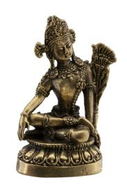 Bouddha-Amulette tibetaine statuette-Boddhisattva-44mm