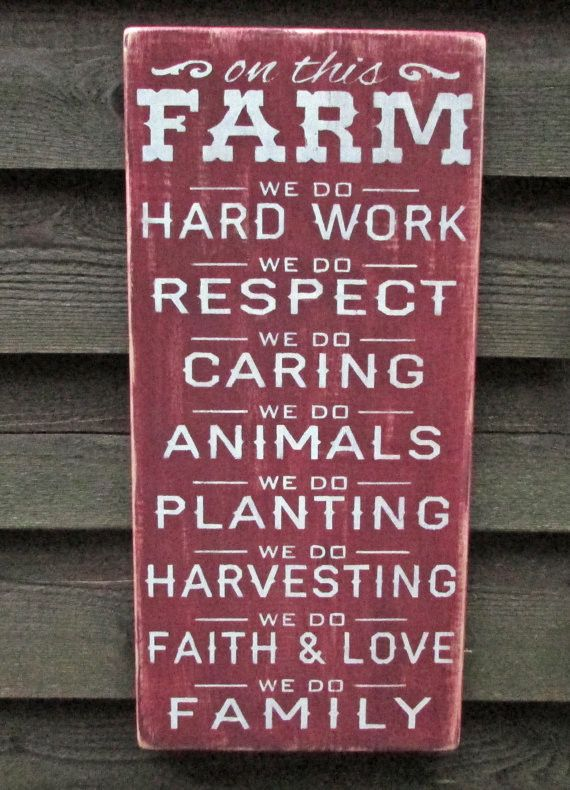 This rustic looking Farm sign, is hand painted and made of wood, and perfect for…