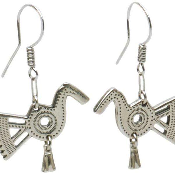 SONGBIRD EARRINGS Songbird Earrings Material: sterling silver length 1′, width 1′ Riga, Latvia