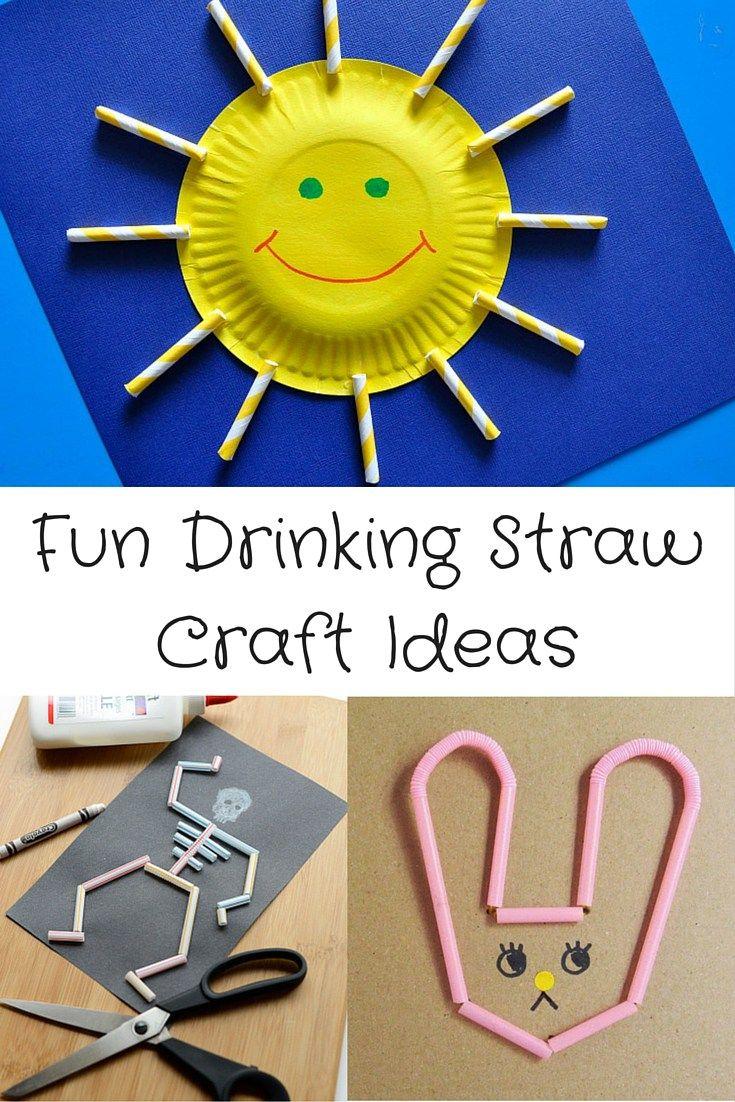Fun Drinking Straw Craft Ideas Visit Kidseatmakedo For