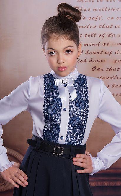 интернет-магазин школьные блузки для девочек от производителя