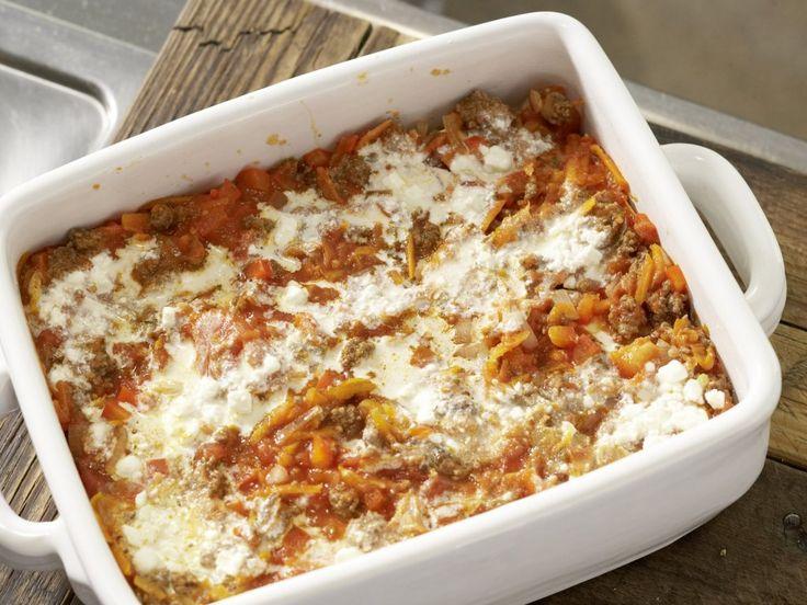 Lasagne mit Frischkäse: Zubereitungsschritt 8