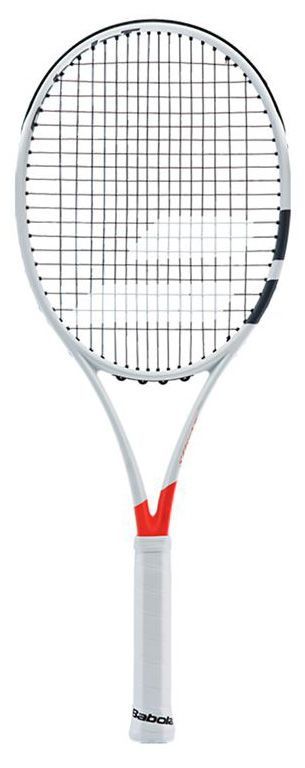 The 2016 Babolat Pure Strike 16x19 tennis racquet offers the ideal balance…