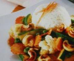 Thailändisches Gemüsecurry mit Reis by SpätzlemitSoß on www.rezeptwelt.de