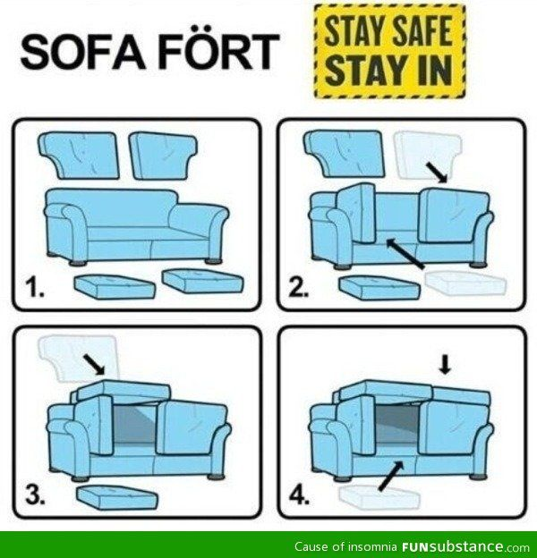 Can't wait to do this! I suppose I should clean out what is hidden underneath the cushions first...ewwww!