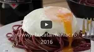Spaghete în vin roșu