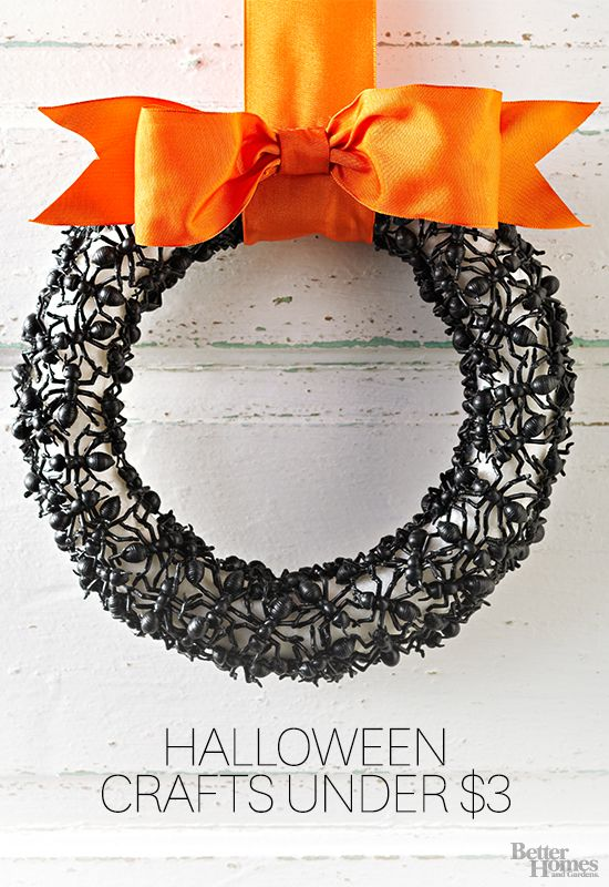 Your home doesn't need to be haunted to be creepy! Find more Halloween decor here: http://www.bhg.com/halloween/indoor-decorating/halloween-door-decor-28-great-ideas/?socsrc=bhgpin082214halloweendecor