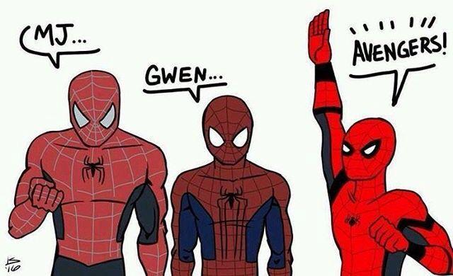 Very true #spidermanhomecoming