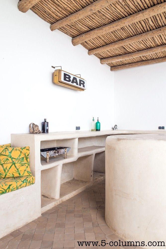 Terrace bar area - Outside kitchen