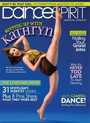 Kathryn McCormick on the November 2012 cover (photo by Joe Toreno)