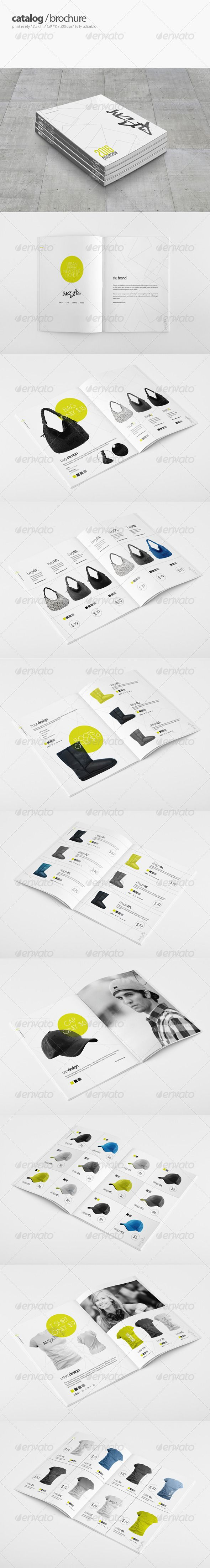 Urban Store Catalogue  #store #stylish #t-shirt • Available here → http://graphicriver.net/item/urban-store-catalogue/4069818?s_rank=257&ref=pxcr