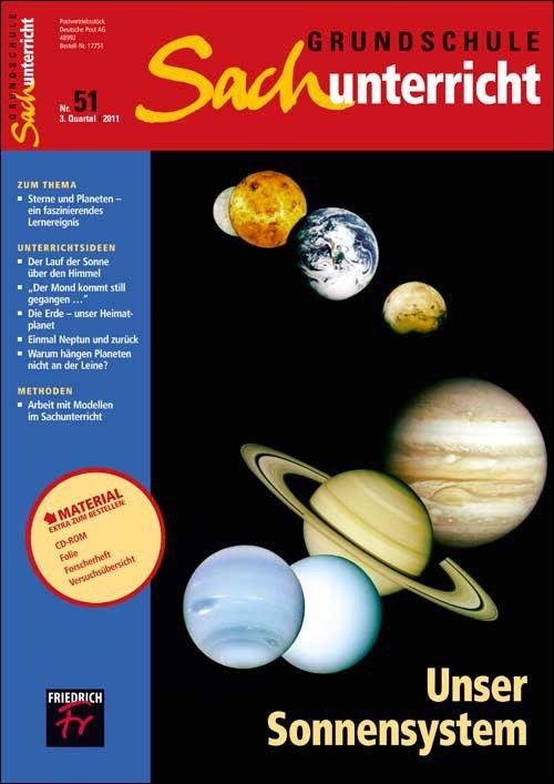 """Unser Sonnensystem – Heft - Zeitschrift """"Grundschule Sachunterricht"""" - Sachunterricht - Grundschule"""