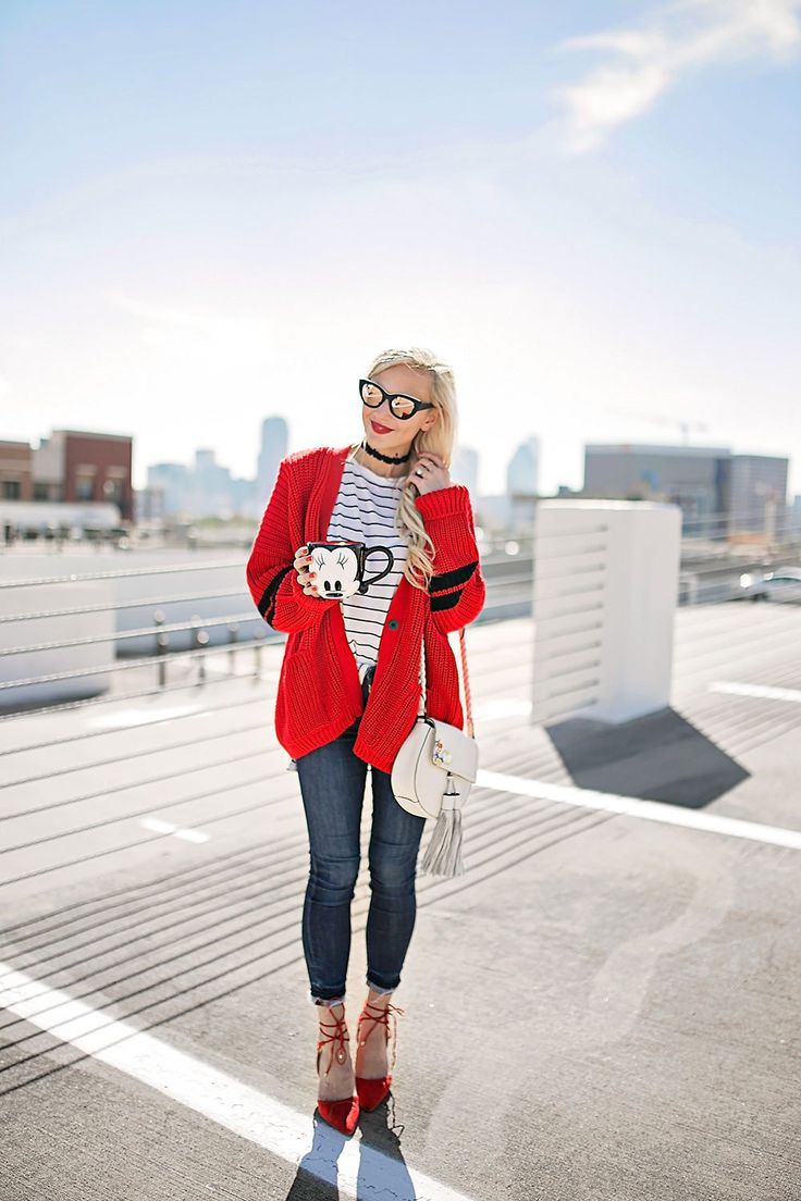 Best 25  Red cardigan sweater ideas on Pinterest | Cable knit ...